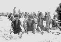 WWII Photo Japanese POWS Tarawa 1943  WW2 B&W World War Two Pacific USMC / 2260