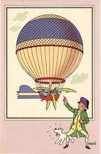 CHROMO Voir et Savoir L'Aérostation n°3. Le Ballon de Blanchard.  Neuf