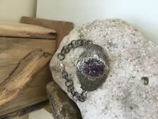 Lab-Created Silver Plated Amethyst Fine Jewellery