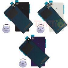 Back Door Battery Glass Cover Case Panel For Sony Xperia Z Z1 Z2 Z3 Z5 Compact