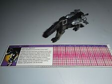 Hasbro Transformers G1 Ravage Cassette for Soundwave, complete