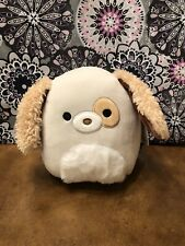 """Squishmallows-Harrison the Dog-Fuzzy Belly-7""""-NWT"""