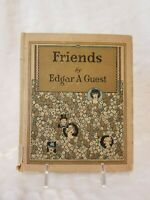 Antique Book - Friends copyright 1925