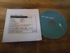 CD Indie Jirku-Judge - Plurism (10 Song) Promo ONITOR REC cb