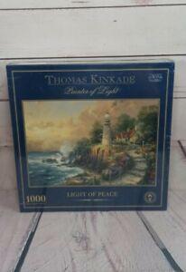 * Thomas Kinkade Jigsaw LIGHT OF PEACE 1000piece NEW & SEALED Travel Puzzle R606