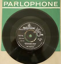 "The Beatles 7"" Norwegian Wood Drive my car 45 INDIA IMPORT PARLOPHONE 45-DPE.186"