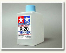 Tamiya 80040 X20 Enamel Thinner 250ml Large Size For Paint Color Craft Tools