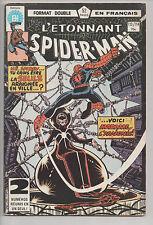 SPIDER-MAN #113/114 french comic français EDITIONS HERITAGE 1st Madam Web