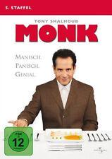 4 DVDs * MONK - STAFFEL 5 # NEU OVP  +