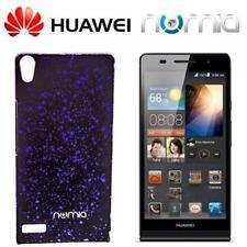 numia 3D Handy Cover Case Huawei Ascend P6 Schwarz-Blau Schutzhülle Hülle Etui