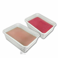 2 Blocchi PARAFFINA profumata trattamento ricostruzione unghie gel UV kit SNC