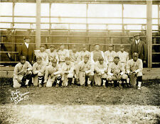 Hillsdale Daisies 1924 - Negro League, 8x10 B&W Photo