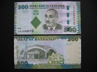 TANZANIA  500 Shilingi 2010  (P40)  UNC