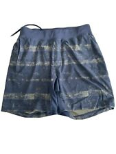 """Lululemon THE SHORT linerless M Black And Army Green 7"""""""