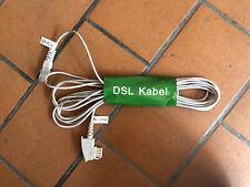 DSL Internet Router Kabel FritzBox Speedport EasyBox TAE F   RJ 45 weiß  4m