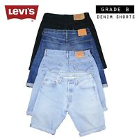 Mens Vintage Levi Strauss Denim Shorts (Grade B) Levis 28,29,30,31,32,33,34,36,3