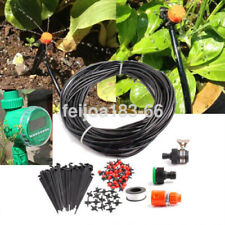 82ft Automatic Drip Irrigation System Plant Self Watering Garden Hose Kit Us