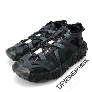 Nike ISPA Overreact Sandal Men's 11 Anthracite Triple Black CQ2230 001 New