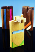 """Two Traditional """"Spring"""" Loaded Wood Dugout + FREE Cigarette Style Bats"""