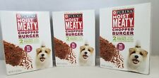 Purina Moist & Meaty Dog Food Chopped Burger 3 Boxes of 2 Pouches (6 total)