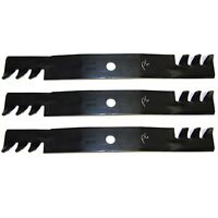 3 Pack 10073 Blades Compatible With John Deere M128485