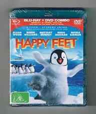 Happy Feet : Blu-ray + Dvd 2-Disc Set Brand New & Sealed