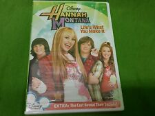 Hannah Montana: Life's What You Make It (DVD, 2007)
