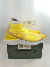 Nike Rise React Flyknit Size 15 Sonic Yellow BQ6176-707 *LIMITED EDITION*