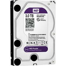 WD Purple 3TB Surveillance Hard Disk Drive - 5400 RPM SATA 6 Gb/s 64MB WD30PURX