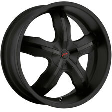 "Platinum 212B Widow FWD 17x7.5 5x100/5x4.5"" +42mm Matte Black Wheel Rim 17"" Inch"