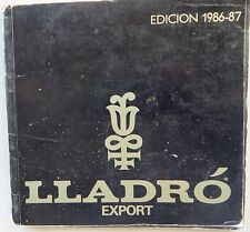 CATALOG Auction Book SPAIN porcelain figurines Lladro Export:Edicion 1986-87