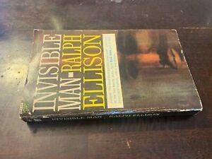 Ralph Ellison Invisible Man Vintage Signet Paperback
