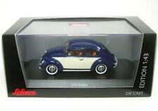 VW Brezelkäfer (blu/bianco)