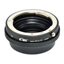 Adapter Mount Ring Pentax K Lens to Camera Photo Fujifilm X-Pro 1