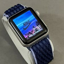 Apple Watch 38mm Series 2 Nike+ Silver Aluminum EXCELLENT CONDITION