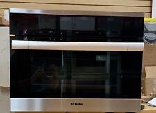 Miele ContourLine M-Touch Series Dgc6700 24 Inch Single Steam Oven