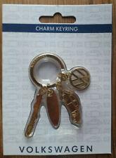 Official Volkswagen Charm Keyring - Beetle - Surfboard - NEW
