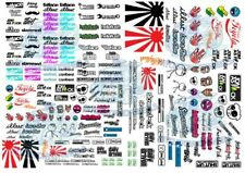 JDM Pack 2 | Waterslide Decals for Model Cars in all scales from 1:64 up to 1:18