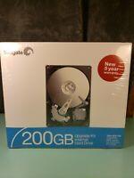 Seagate 200 GB Upgrade kit internal hard drive NEW SEALED