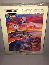 1997 Sealed New NASCAR Winston Cup Doubleheader Kenwood 300 California program