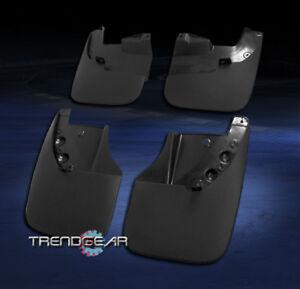 FOR 2007-2013 TOYOTA TUNDRA MUD FLAP SPLASH GUARD 4PCS FRONT+REAR CUSTOM MOLDED