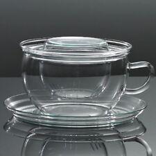 Glastasse TEA TIME G Trendglas Jena Jumbotasse Teetasse Tee Tasse Glasfilter