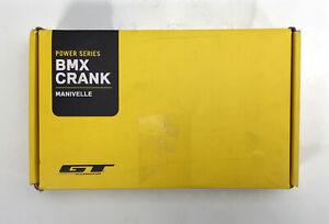 GT Accessories, Power Series BMX Crank, Black, 19mm