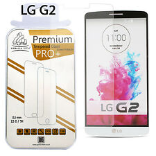 100% Genuine Gorilla Tech Tempered Glass Film Screen Protector Shield For LG G2