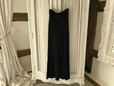 Stunning Long Black Ralph Lauren Dress.  Bandau Top.  New with Tags.  size M