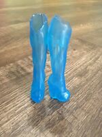 Monster High Doll - Abbey Bominable -Music Festival - Replacement Blue  Boots