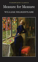 Measure for Measure, William Shakespeare, J W Lever, Good, Paperback