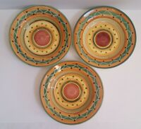 Pier 1  Pier1 ETRUSCO Italy Soup/Pasta/ Salad Bowls ~ Set of 3 UNUSED