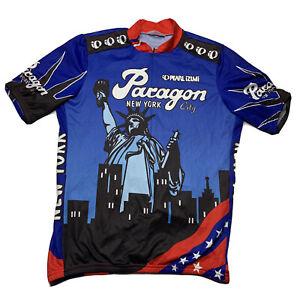 Pearl Izumi Adult Cycling Shirt Paragon New York Size Large Statue Of Liberty