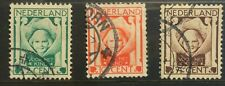 Netherlands 1924 Child Welfare set used